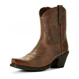 "Lovely Western 7"" Cowgirl Boots Sassy Brown - Item # 46133"