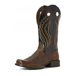 "Sport Picket Line Western 13"" Cowboy Boots Black Eclipse - Item # 46163"