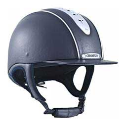 Champion Evolution Pearl Horse Riding Helmet Navy - Item # 46425