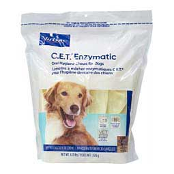 CET Enzymatic Oral Hygiene Dental Chews for Dogs Large (over 50 lbs) 30 ct - Item # 46574