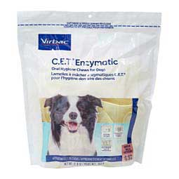 CET Enzymatic Oral Hygiene Dental Chews for Dogs Medium (25-50 lbs) 30 ct - Item # 46575