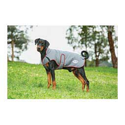 Comfitec Premier Freedom Parka Deluxe Dog Coat Gray/Burgundy - Item # 46641