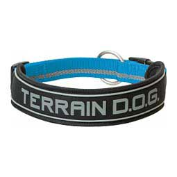 Padded Reflective Snap-N-Go Adjustable Dog Collar Blue L (1'' x 21-25'') - Item # 46805