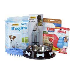 Puppy Starter Kit for Small Dogs Blue - Item # 47441