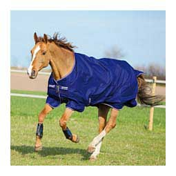 Amigo Hero 900 Medium Turnout Horse Blanket Blue/Ivory - Item # 47448