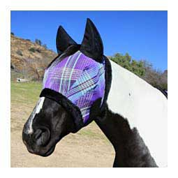 Fly Mask with Ears Lavendar Mint - Item # 47465