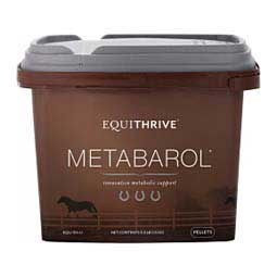 Equithrive Metabarol Pellets Metabolic Support for Horses 3.3 lb (30 days) - Item # 47523