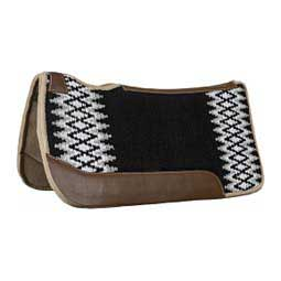 "Blue Horse 1"" Blanket Top Saddle Pad Black/Gray - Item # 47552"