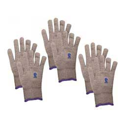 Heavy Insulated Barn Gloves Gray XL (3 pairs) - Item # 47593