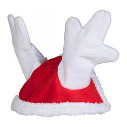 Christmas Reindeer Cap for Horses Red Pony - Item # 47709