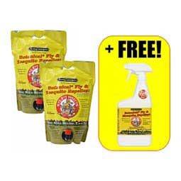 Bye Bye Insects Botanical Fly & Mosquito Repellent for Horses 3 Quart Refill (2 ct) + Free Quart - Item # 48063