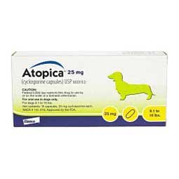 Atopica for Dogs 9.1-16 lbs 25 mg 15 ct - Item # 612RX