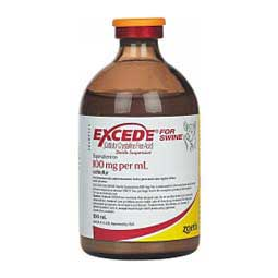 Excede For Swine 100mg/ml 100 ml - Item # 631RX