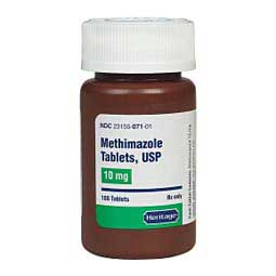 10 mg/100 ct Methimazole Tablets