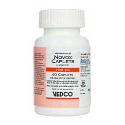 100 mg/60ct Novox Caplets for Dogs