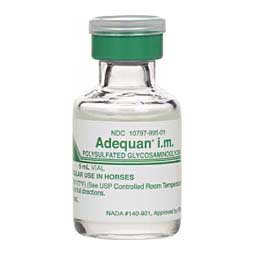 Adequan® i.m. (polysulfated glycosaminoglycan) Single - Dose (500 mg/5 ml) - Item # 845RX