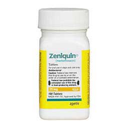 Zeniquin for Dogs & Cats 25 mg/100 ct - Item # 879RX