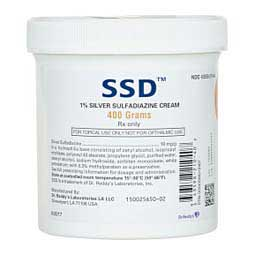 SSD Silver Sulfadiazine Cream for Animal Use 400 gm - Item # 897RX